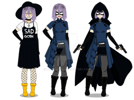 Boku no Hero Academia OC: Blackbird V.2.0 by BlueAAGirl