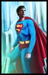 Superman by IronWarrior777