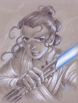 Rey by briannacherrygarcia