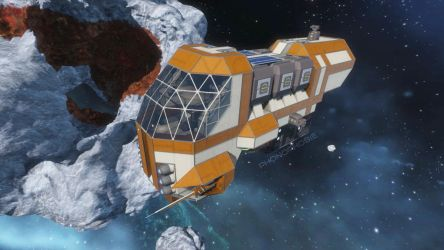 Space Engineers - Drone Carrier 'Toucan' by phonophobie