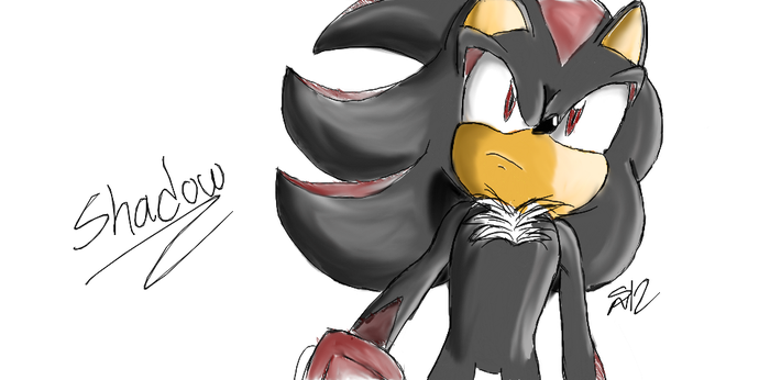 How I Draw Shadow by ShadowReaper12