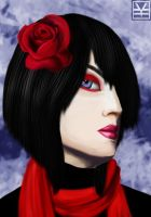 The Red Rose by Joouheika