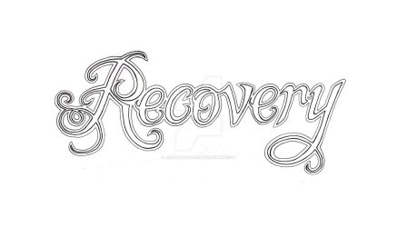 Recovery Lettering Pen and Ink