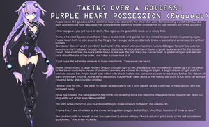 Taking Over a Goddess- Purple Heart Possession by RedQueenAkame