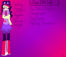 Monster Highschool AU-Twiley Sparks by HerrenLovesFNAF