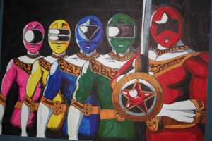 Power Rangers: Zeo by racookie3