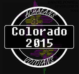 Achaea/Void 2015 Meet - Shirt Logo by dePow9999