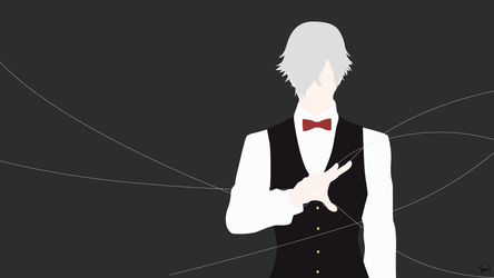 Decim {Death Parade} by greenmapple17