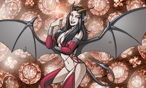 Succubus Eisheth by self-replica