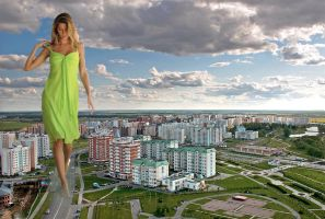 Gisele in Russia by Accasbel