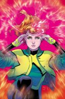 JEAN GREY variant cover by RDauterman