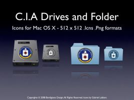 C.I.A Drives and Folders by igabapple