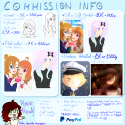 Commission Information by GypsyCuddles
