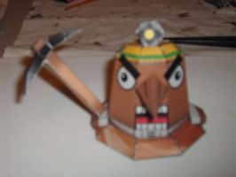 Mr. Resetti papercraft by AUSTINMEADOWS