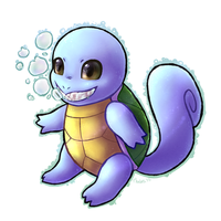 007 - Shiny Squirtle by thalath