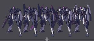 C007 - GNX-915T GN-XV - Variants by orihalchon