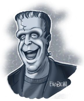 Herman Munster by mengblom