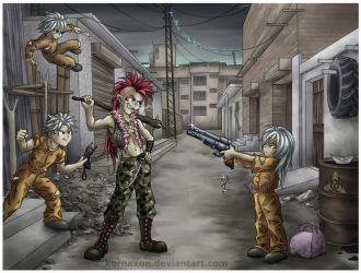Growing up in the slums by KorNaXon