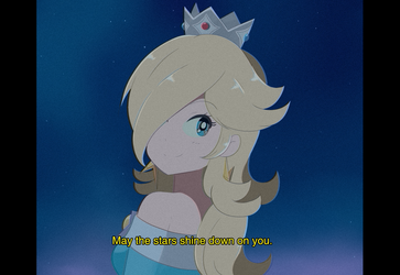 Super Mario Galaxy - 1980's Rosalina by chocomiru02