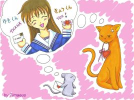 fruits basket valentine by Timaeus