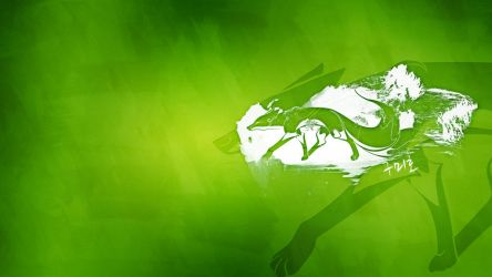 Green Kumiho Wallpaper by dunedhel