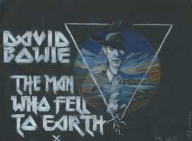The Man Who Fell To Earth Poster by Kuromizuri2