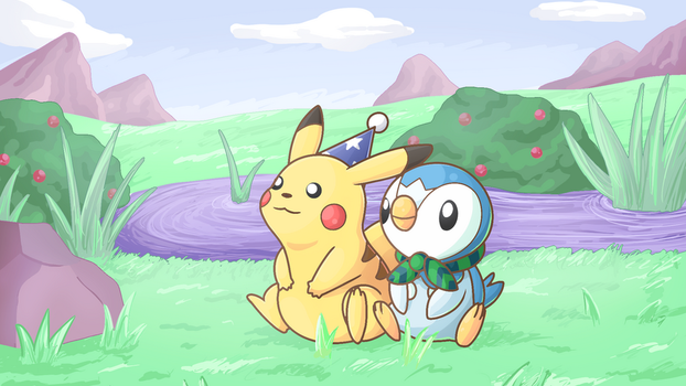 Commission for AxesPikachu by MuzYoshi