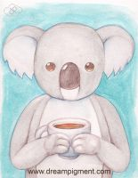 Coffee Koala by DreamPigment