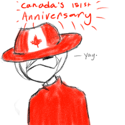 Yay. [ 151st Anniversary for Canada ] by Cyber-Nova