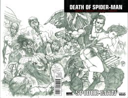 Spider-man: The Dead Crawler Commission by Ace-Continuado