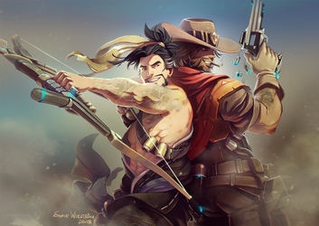 It's high noon by SofieWikstromArt
