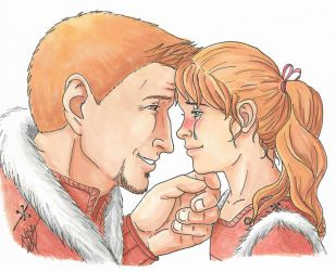 Alistair and Kenna (father's day) by SangoSweetz