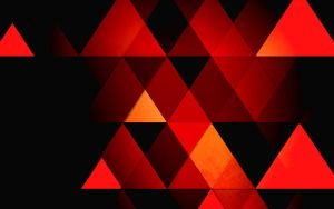 wallpaper 32 retro triangles by zpecter