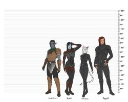 TES Height Chart by The13thBlackCat