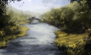 River Speed Paint by Robjenx
