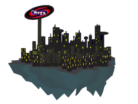 The Rift City (improved vector) by ZDoso