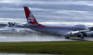 Boeing 747-8 Cargolux takeoff by shelbs2