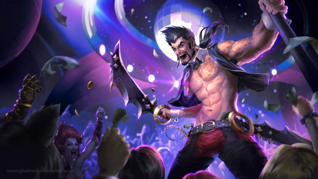 League of Legends: Go Go Draven by GisAlmeida