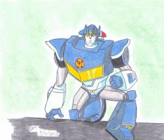 Chase rescue bots animated style by ailgara