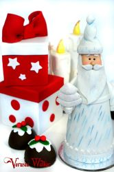 Mini Cake Santa Claus by Verusca