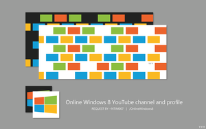 Online Windows 8 YouTube channel and profile by Tecior
