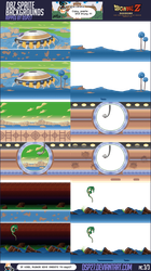 Dbz Sprites Backgrounds 3-3 by dsp27