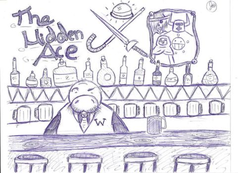 The Hidden Ace Tavern by Elemental-Magus