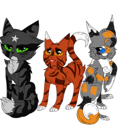 Warrior Cat adopts |OPEN AUCTION 1 POINTS SB| by S1lverwind