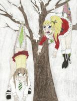 Request - Amy and Maka hanging wedgied by wjmmovieman