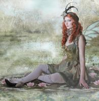 Waterlilly Fairy by MADmoiselleMeli