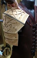 Celtic Warrior Shoulder WIP by Feral-Workshop