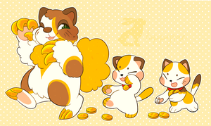 (SC) Maneki Neko Parade! by loppyrae