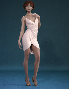 Sally Silk Dress by romofrog
