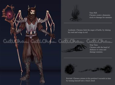 'Hades, Is That You?'_Chronos' Skin Concept by CutiChan